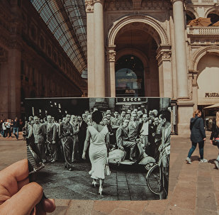 Mario De Biasi, «Gli italiani si voltano», 1954