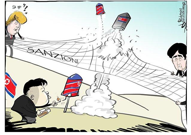 Corea del Nord vs. sanzioni USA