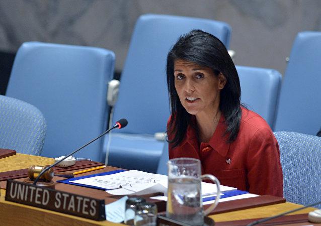 L'ambasciatore americano alle Nazioni Unite Nikki Haley