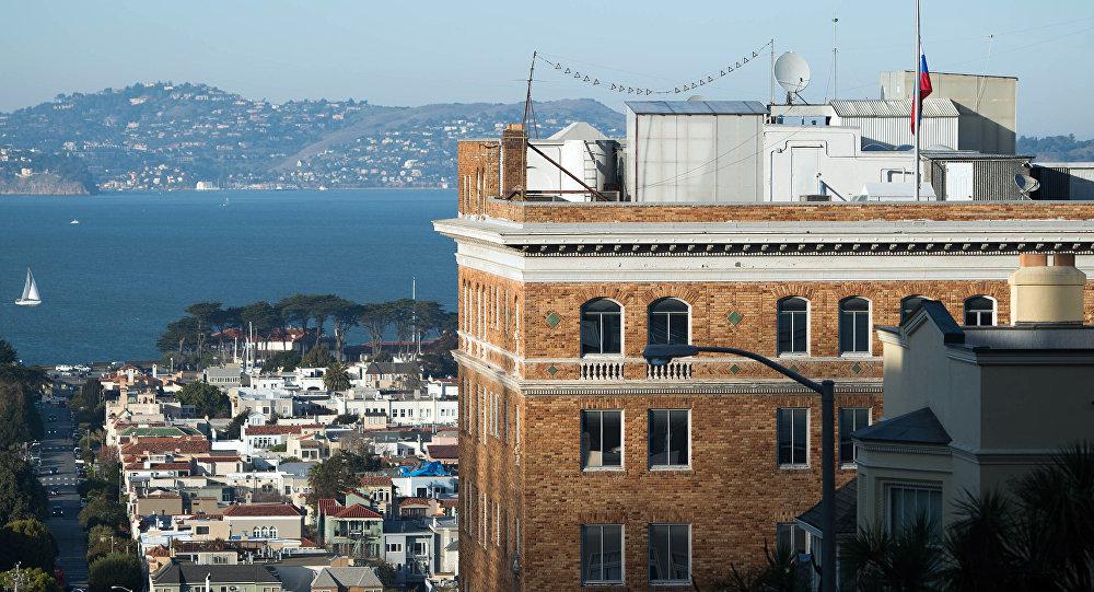 Consolato russo a San Francisco (foto d'archivio)