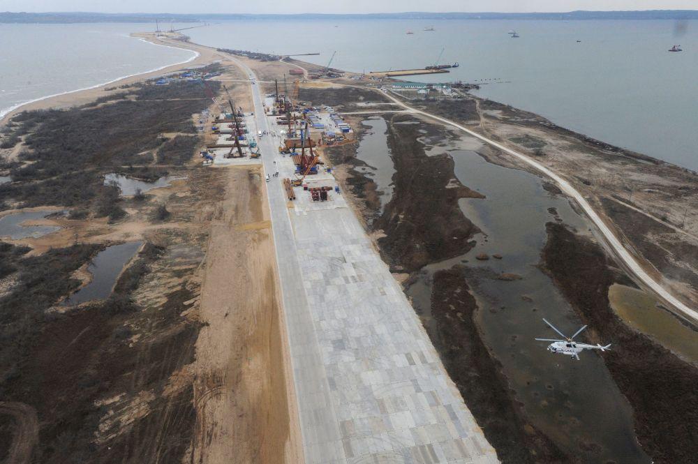 Prende sempre più forma il ponte sullo stretto di Kerch