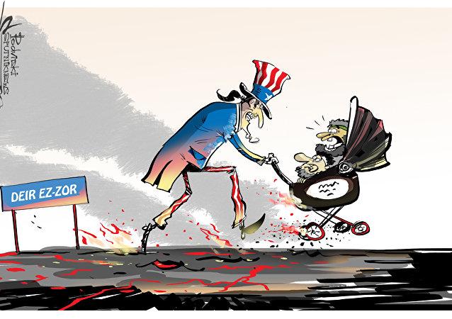 Gli americani hanno evacuato i comandanti ISIS da Deir ez-Zor
