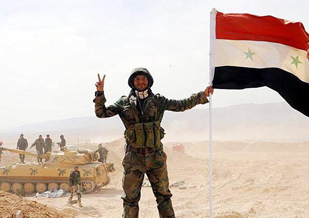 Soldato siriano