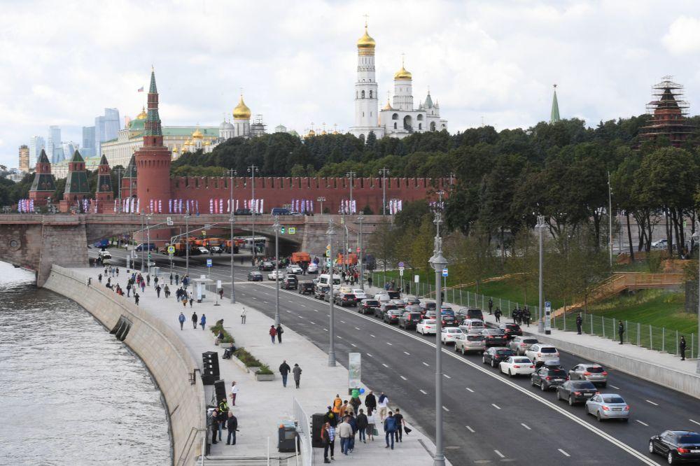 Il nuovo parco Zaryad'e di Mosca