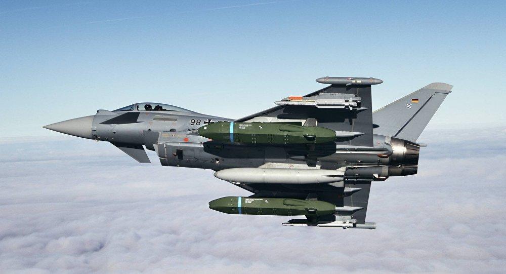 Eurofighter Typhoon Flight tests with Taurus KEPD 350 missile
