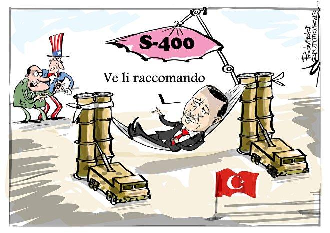 Erdogan: USA infuriati per accordo su S-400 con Russia