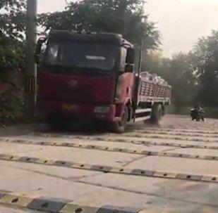 La strada pazza in Cina