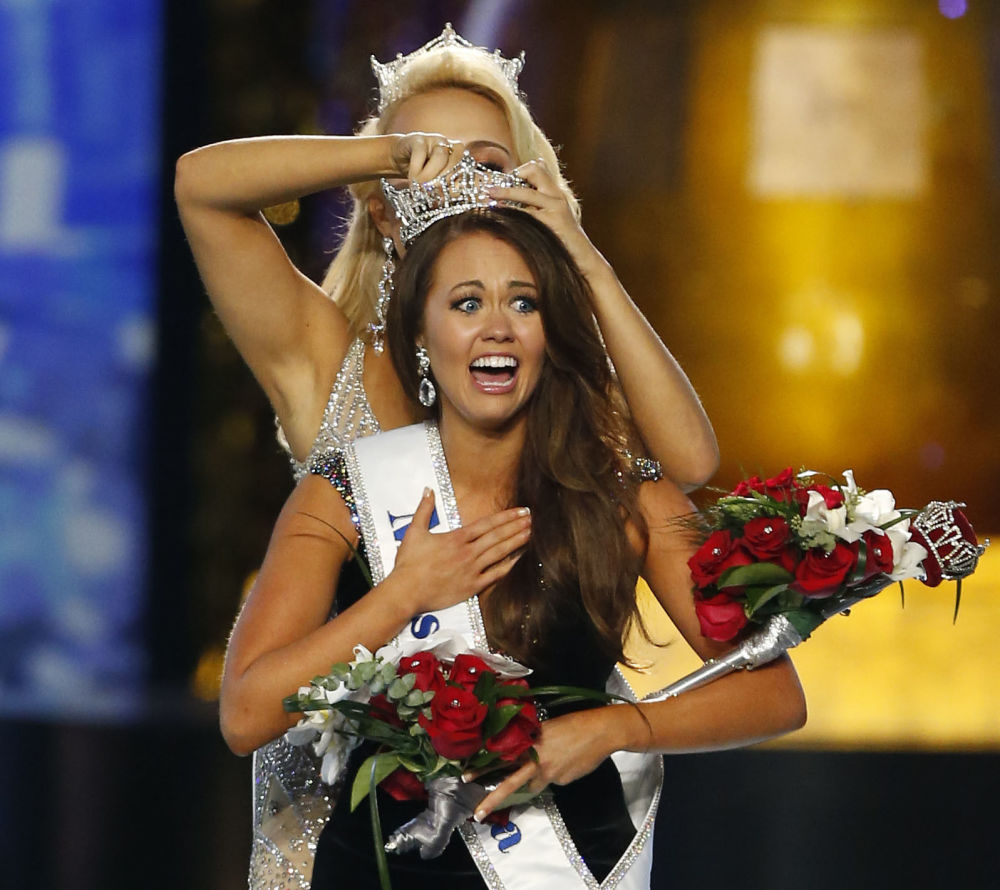 Miss Morth Dakota Cara Mund, la nuova Miss America 2017.