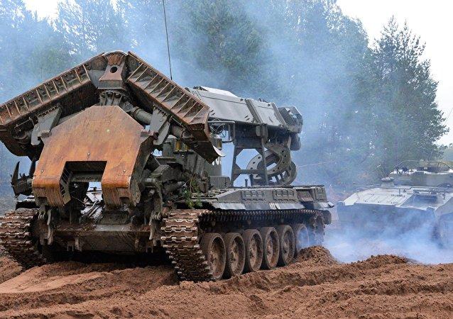 Il secondo giorno delle esercitazioni militari di Russia e Bielorussia Zapad-2017