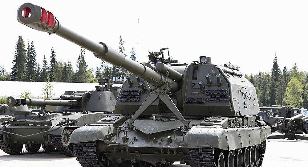 2S19 Msta-S semovente d'artiglieria