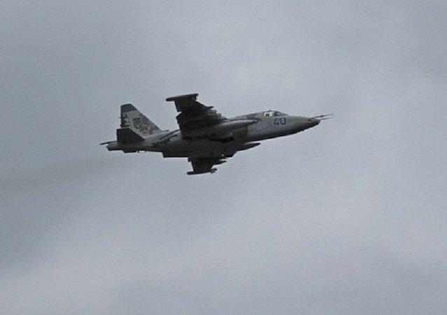 Caccia ucraino Su-25