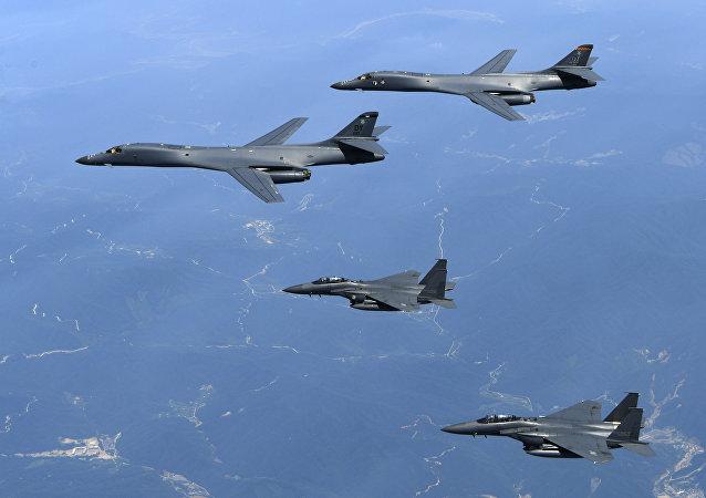 Esercitazioni aeree congiunte di USA e Corea del Sud