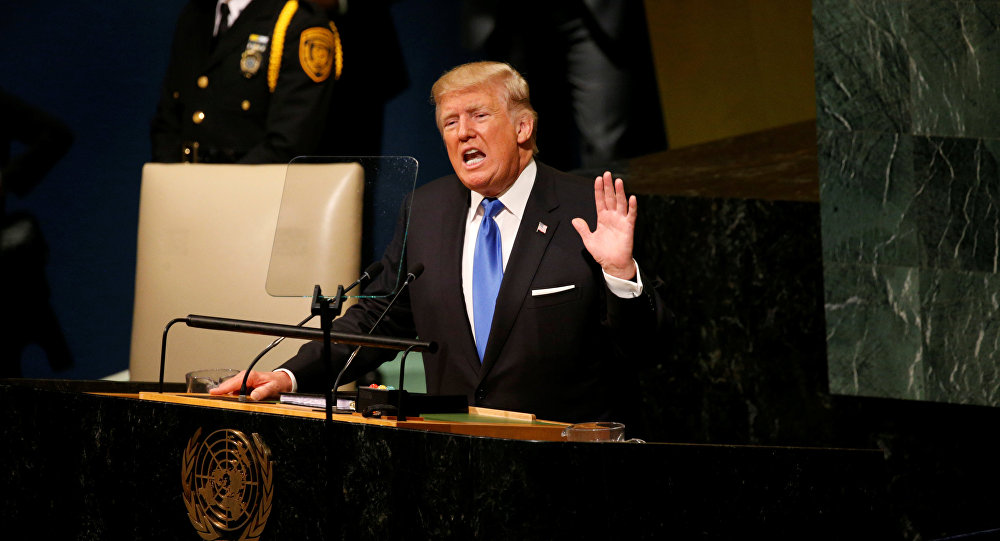 Trump all'Onu: