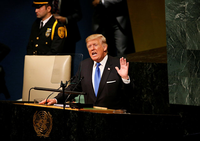 Donald Trump interviene all'ONU
