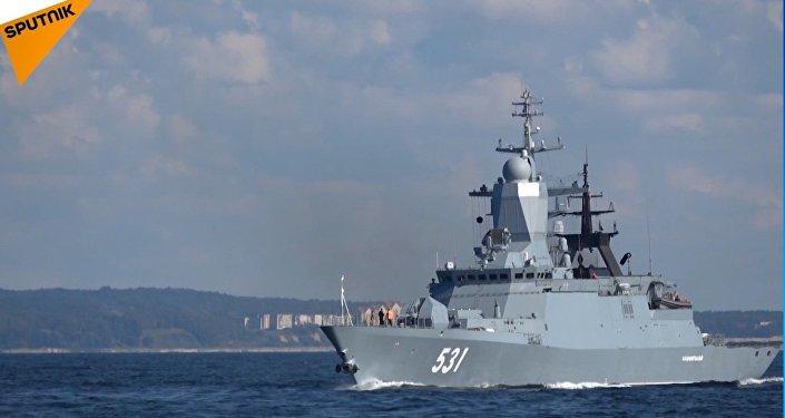 ZAPAD 2017 - Le navi della Flotta del Baltico in azione