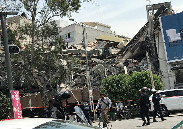 Il terremoto in Messico