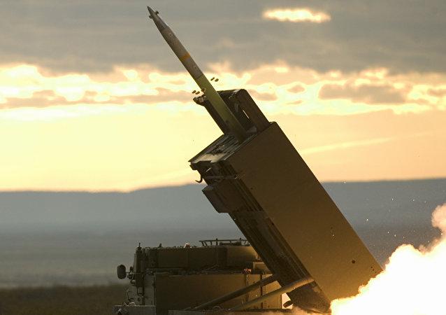 Test missilistico americano (foto d'archivio)