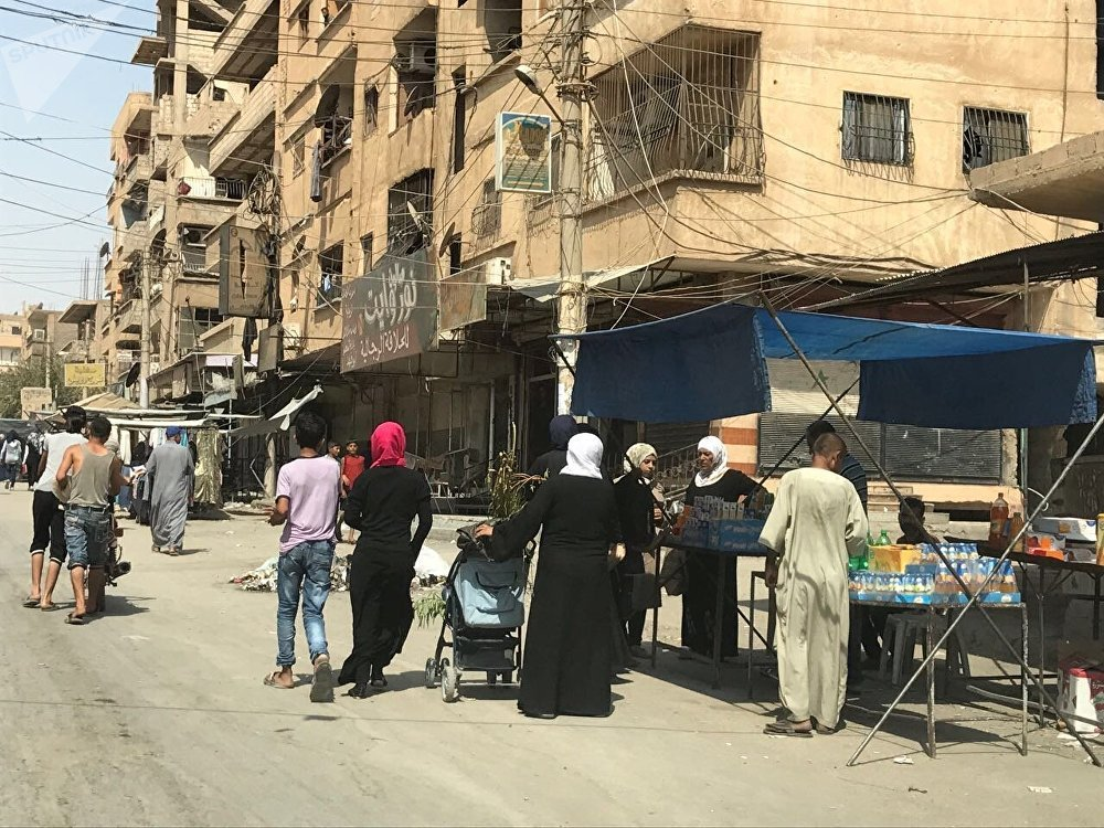 Dopo l'assedop Deir ez-Zor ritorna alla vita normale