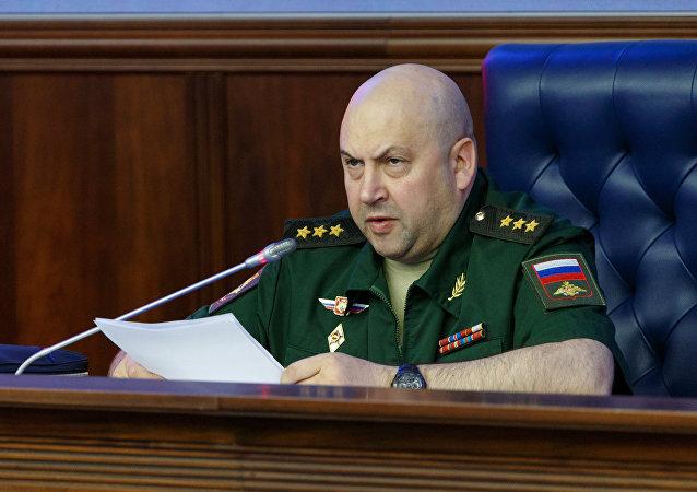 Il generale Sergei Surovikin