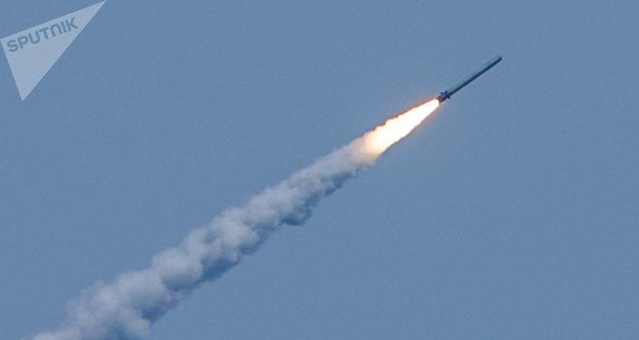 Lancio dei missili Kalibr