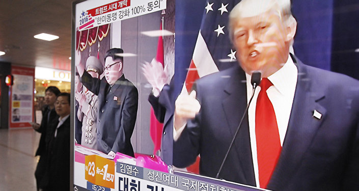 Donald Trump e leader nordcoreano Kim Jong-un