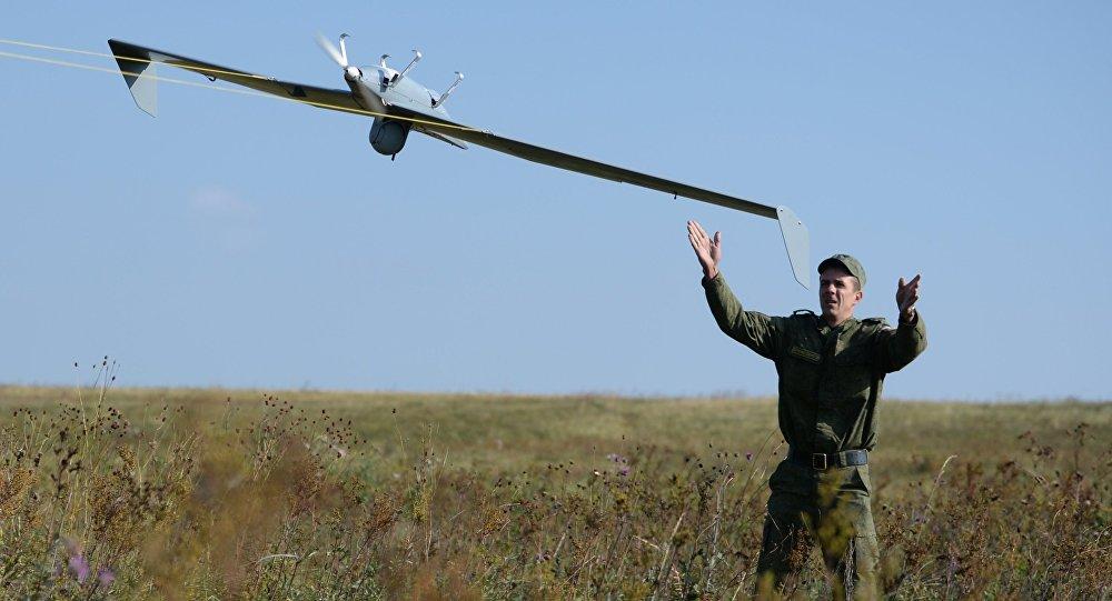 Lancio di un drone