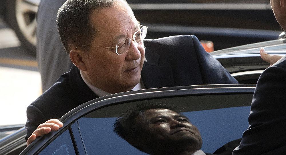 Ri Yong Ho, il ministro Esteri della Corea del Nord