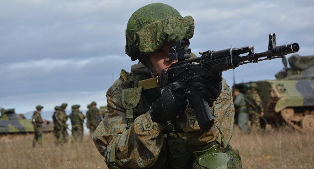 Soldato serbo.