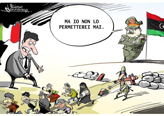 Piano italiano sui migranti è in pericolo