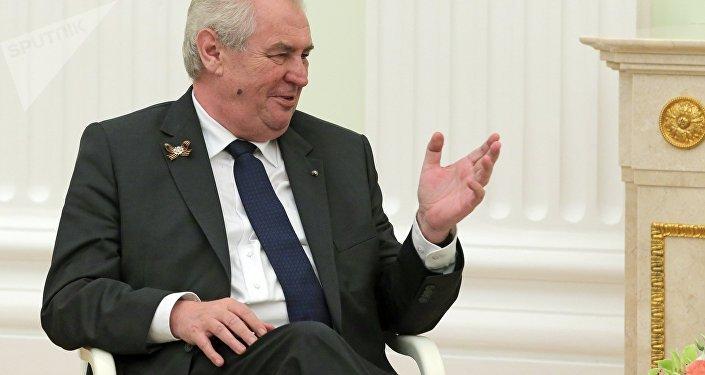 Miloš Zeman, presidente della Repubblica Ceca