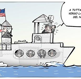 Marinai Usa: la nostra nave è un carcere inutile contro la Corea del Nord