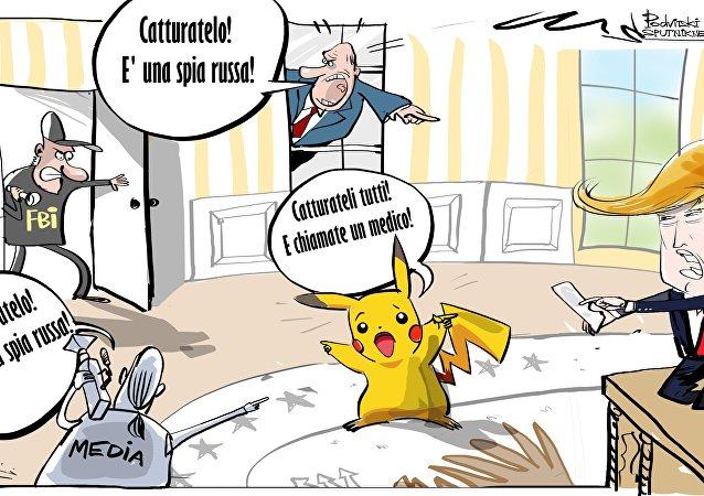 """l rappresentante ufficiale del Ministero degli esteri russo Maria Zakharova ha definito """"indegni"""" i tentativi di accusare Mosca di """"ingerenza"""" in USA attraverso Pokemon Go."""