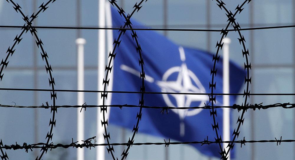 La bandiera NATO
