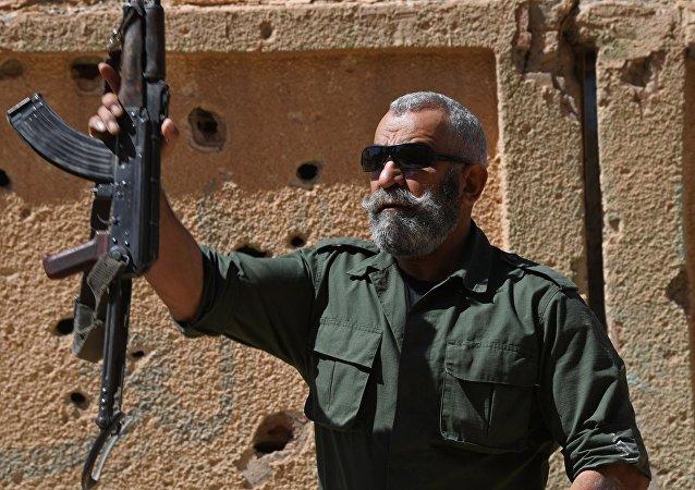 Il generale dell'esercito siriano Issam Zakhreddin