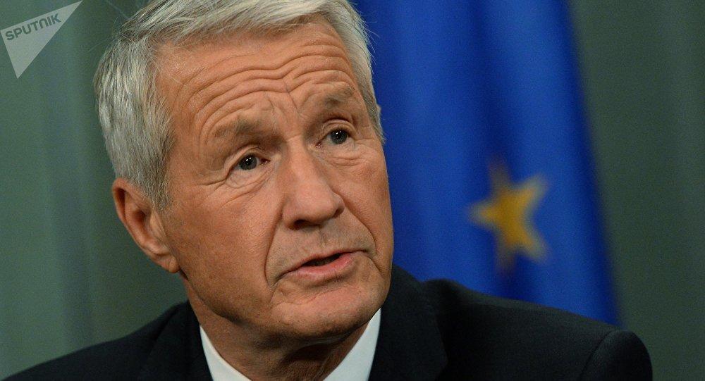 Il segretario generale del Consiglio d'Europa Thorbjorn Jagland