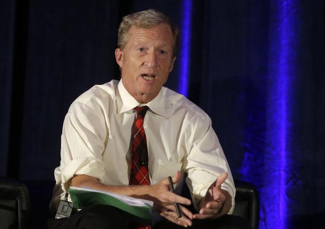 Miliardario americano Tom Steyer