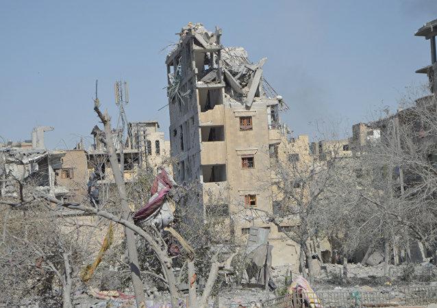 Rovine di Raqqa