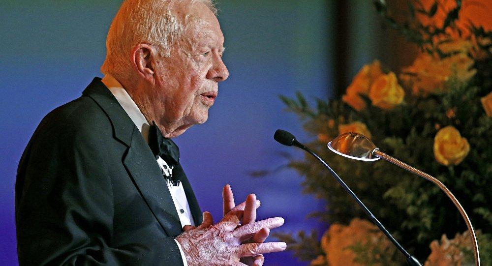 Ex presidente americano Jimmy Carter