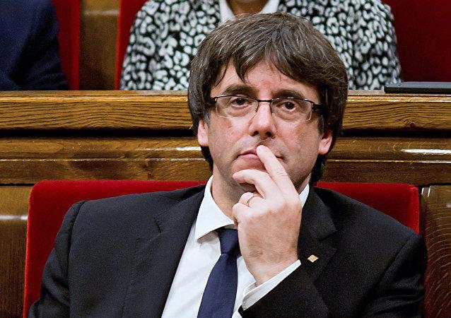 Carles Puigdemont (foto d'archivio)