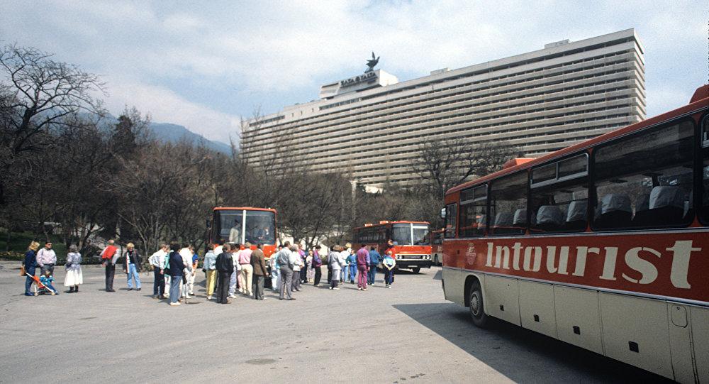 Turisti stranieri nell'Unione Sovietica