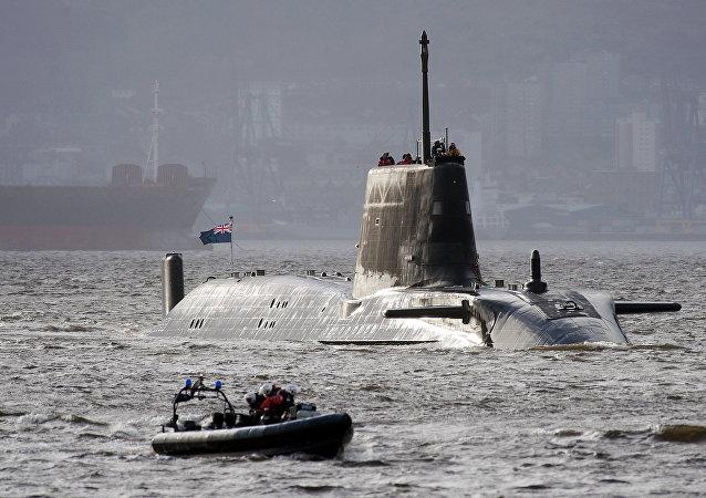 Sottomarino delle forze navali britanniche (foto d'archivio)