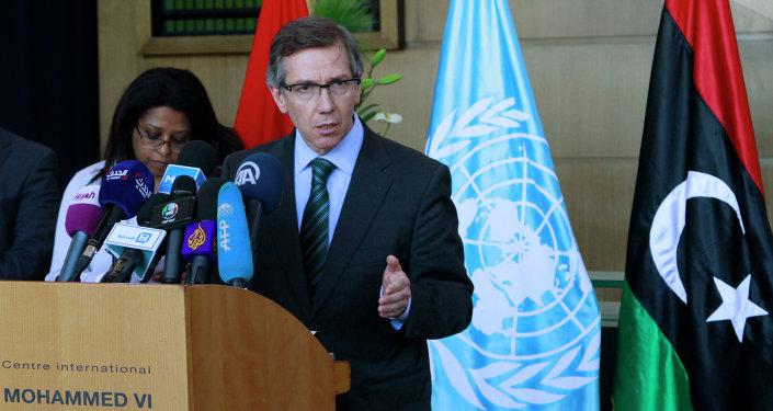 Bernardino Leon, inviato speciale dell'ONU in Libia