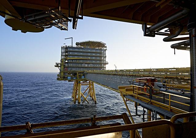 Piattaforma danese nel Mare del Nord (foto d'archivio)