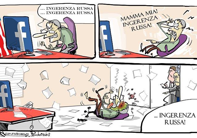 Facebook spiega che si accorse dell'influenza di Mosca e avvisò le autorità prima delle votazioni.