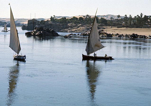 Il fiume Nilo, Egitto