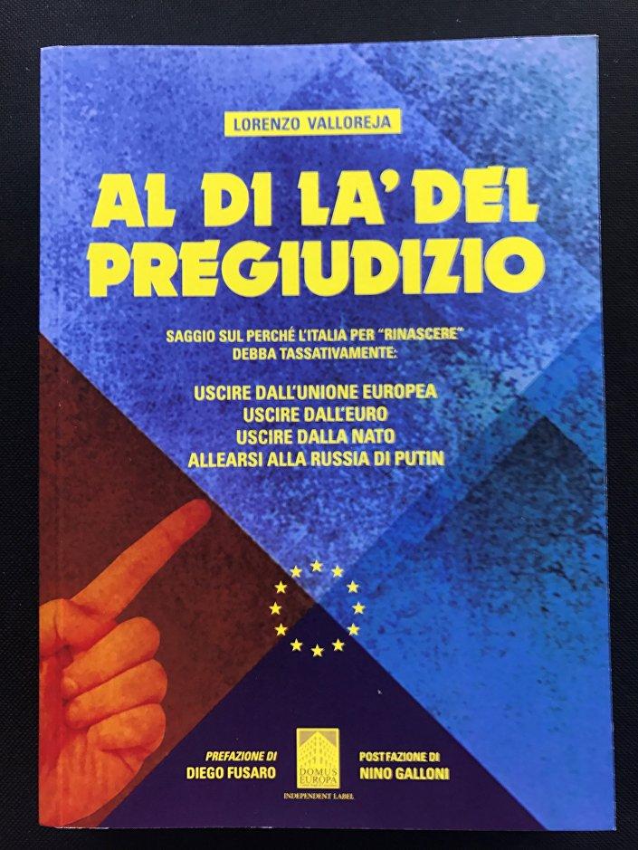Copertina del libro Al di là del pregiudizio di Lorenzo Valloreja
