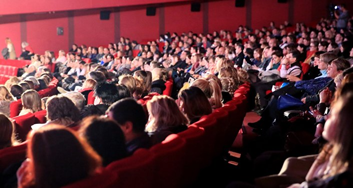 Spettatori alla IV edizione del RIFF - Russia Italia Film Festival