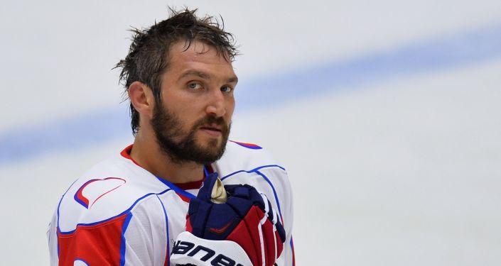 Giocatore di hockey Alexander Ovechkin