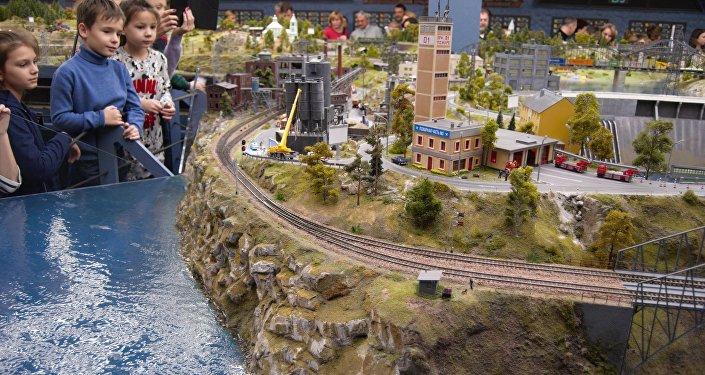 """""""Grand Maket Rossija"""", la seconda miniatura più grande del mondo."""