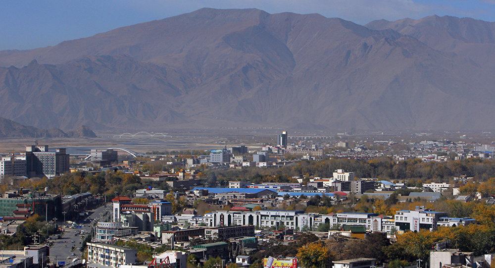 Lhasa la capitale del Tibet. (File)